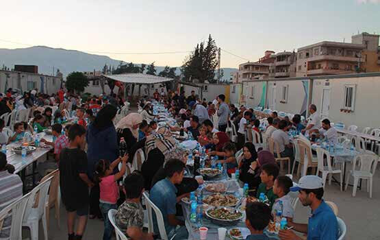 Special Iftar with the Refugees